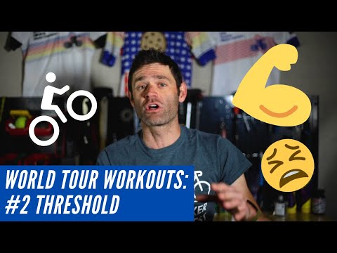 WorldTour Workouts Lactate Threshold Training