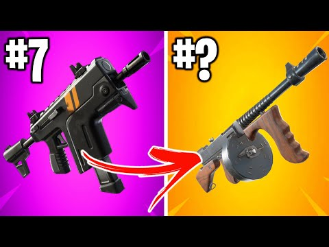 RANKING ALL NEW WEAPONS IN FORTNITE SEASON 2! (finally)
