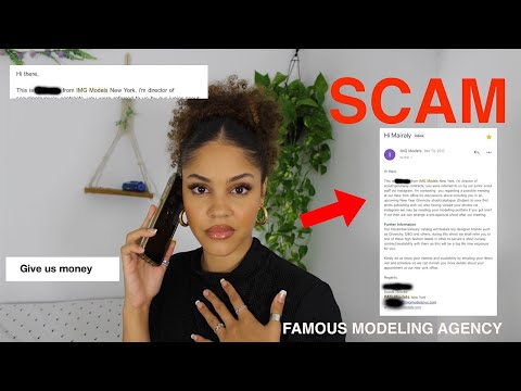 STORTYTIME: I WAS SCAMMED BY A FAMOUS MODELING AGENCY?