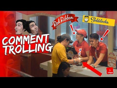 """Magpagawa Ng Cake sa Red Ribbon """"Goldilocks is BETTER!""""   Comment Trolling"""