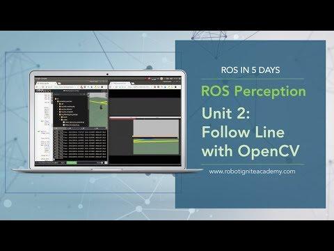 [ROS Tutorials] ROS Perception Unit2# Follow Line with OpenCV (Python)