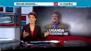 Rachel Maddow-Rick Warren forced out of silence on Uganda
