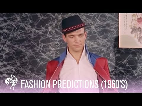 21st Century Fashion - as predicted in 1960