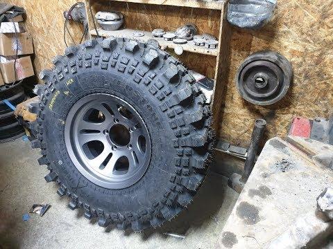 Новые колеса на УАЗ Hunter. Кованые диски Slik L64 и шины Silverstone MT-117 Xtreme