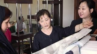 Visit of Korean textile association at Nawal Al Hooti