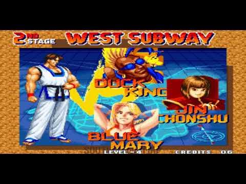 10 minutos de: Real Bout Fatal Fury (Neo Geo)