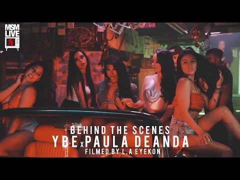 "YBE X PAULA DEANDA ""MI DROGA"" BEHIND THE SCENES 2020"