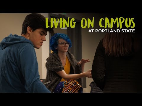 Living on Campus at Portland State