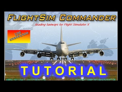 Tutorial Flight Sim Commander