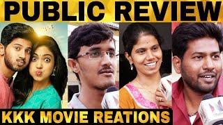Kannum Kannum Kollaiyadithaal Public Review | Dulquer Salmaan | Rakshan | Desingh Periyasamy