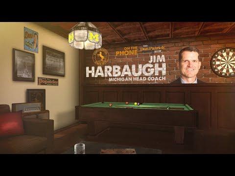 Michigan Head Coach Jim Harbaugh on The Dan Patrick Show | Full Interview | 9/5/17
