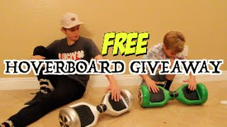 WIN YOURSELF A FREE HOVERBOARD!