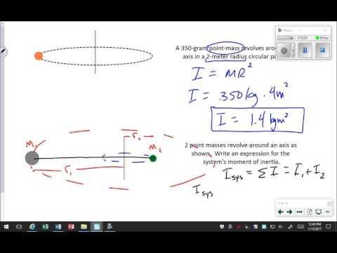 Rotational Inertia and Newton's 2nd Law for Rotation