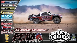 Full Bore Motorsports at the 2019 BFGoodrich Mint 400