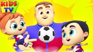 Soccer Song | The Supremes | Songs for Babies | Cartoon Videos for Kids