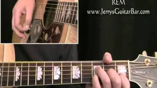 How To Play REM Losing My Religion (intro only)