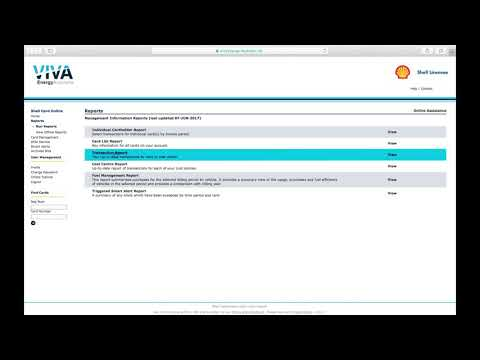 View fuel user information: Learn how to use Card List Reports to get information on specific users and card usage.
