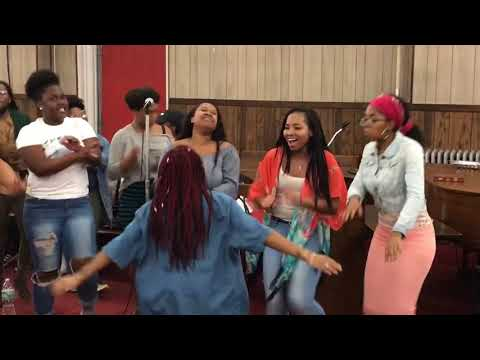 "Vincent Bohanan & SOV Choir Rehearsal "" He Got Up"""