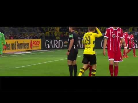 Christian Pulisic- All Touches vs. Bayern Munich- 11/4/2017