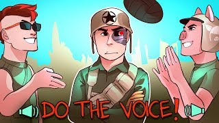 COD WWII Funny Moments: Being Bullied By My Friends, DO THE VOICE & 1v1 Shovels Only!