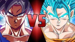 Ultra Instinct Goku VS Super Saiyan Blue Vegito (Dragon Ball Super)