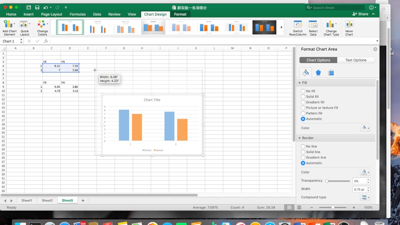 Excel For Mac Add Error Bars To Clustered Bar Graph Youtube