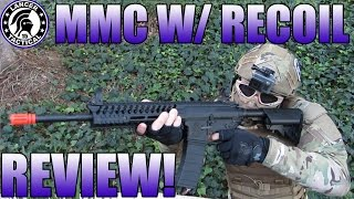 Lancer Tactical MMC w/ RECOIL REVIEW: AMAZING GUN & REALISM!