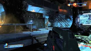 Aliens Colonial Marines - Gameplay on 7950 Full HD