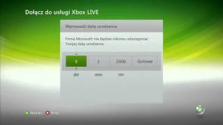 Poradnik - Zakładanie konta Xbox LIVE