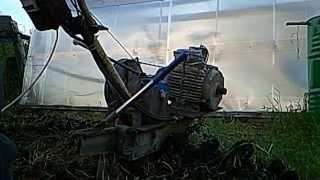 Мотоблок с электродвигателем