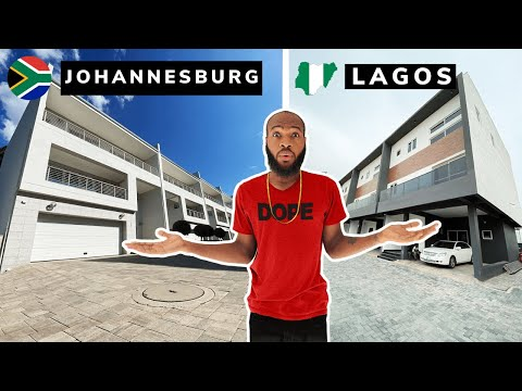 What $1500 Per Month Gets You In Lagos VS Johannesburg