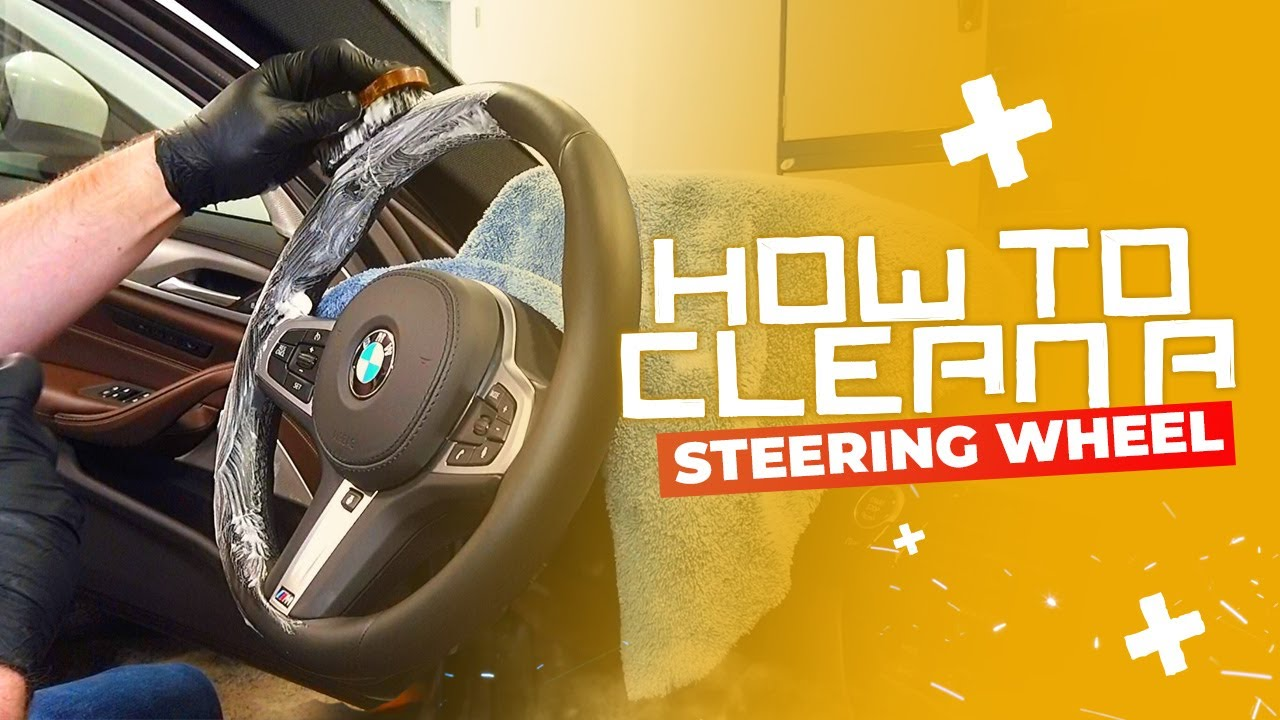 How To Clean A Leather Steering Wheel Youtube