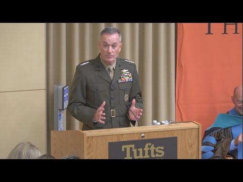 General Joseph Dunford (F92) Keynotes Convocation 2015