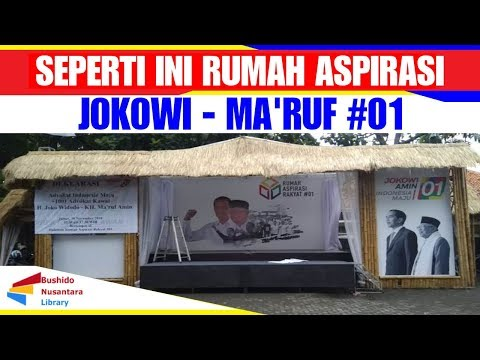 GREBEK RUMAH ASPIRASI JOKOWI-MA'RUF AMIN #01