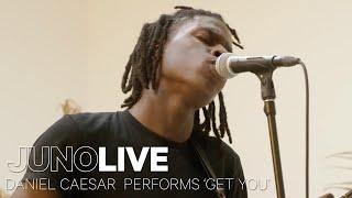 Daniel Caesar Performs 'Get You' on JUNO LIVE | JUNO TV
