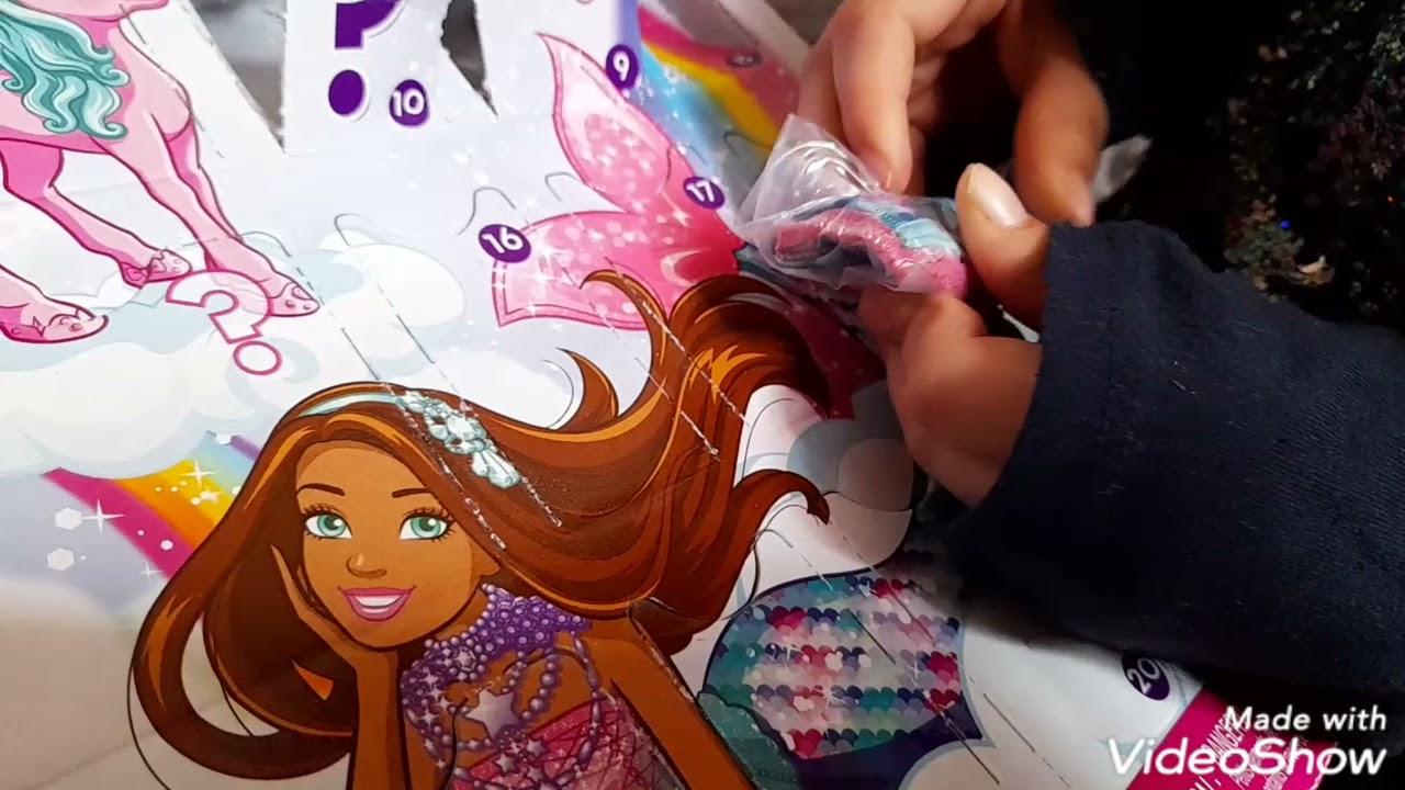 Barbie 24 sorpresas Barbie dreamtopia