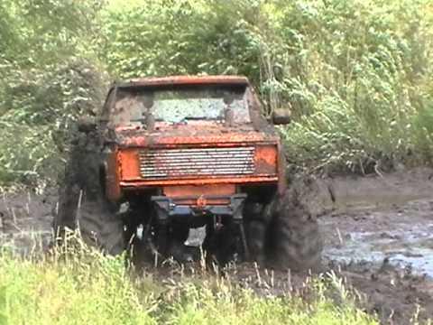 bad seed mud truck 4x4 lifted chevy power mudding bog