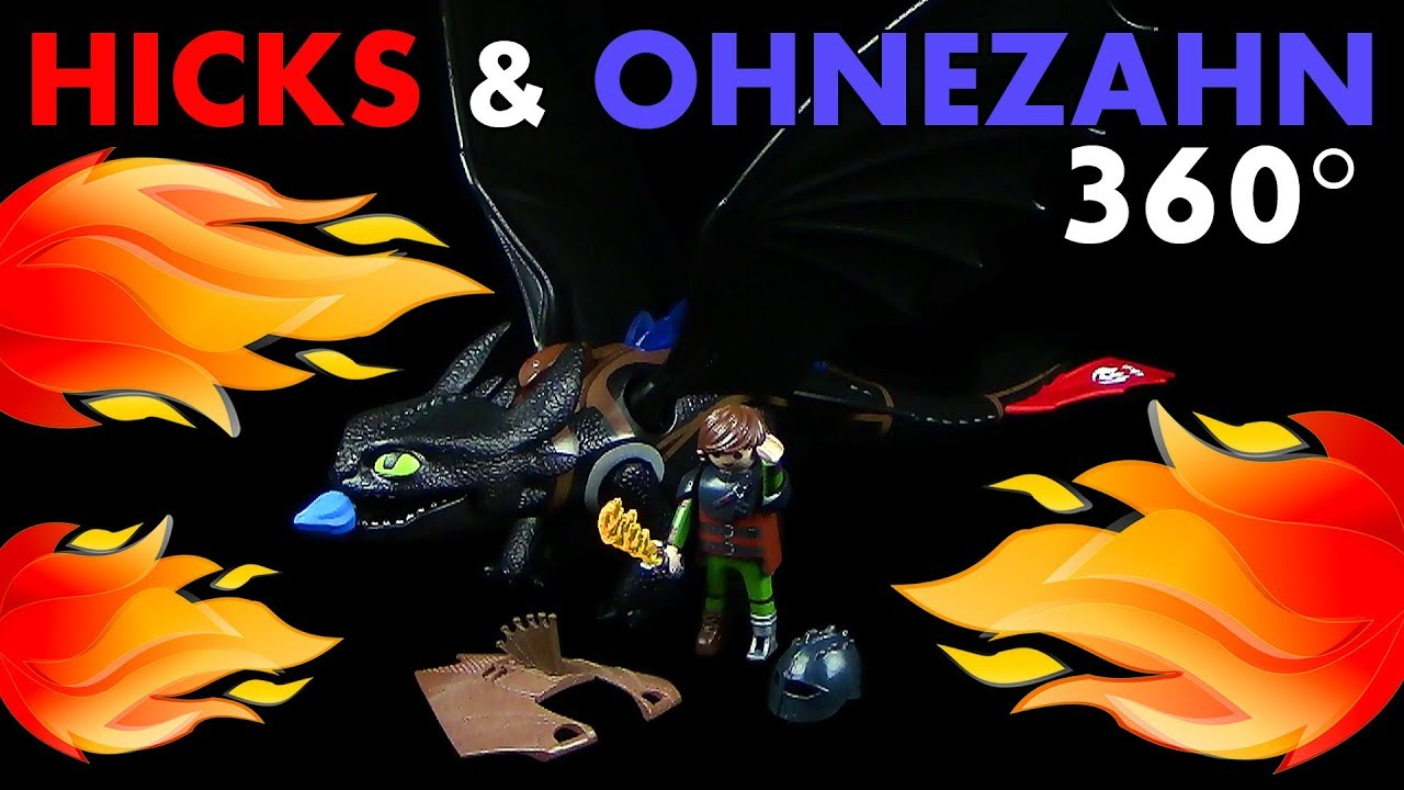 neu 9246 playmobil® dragons hicks und ohnezahn  hicks