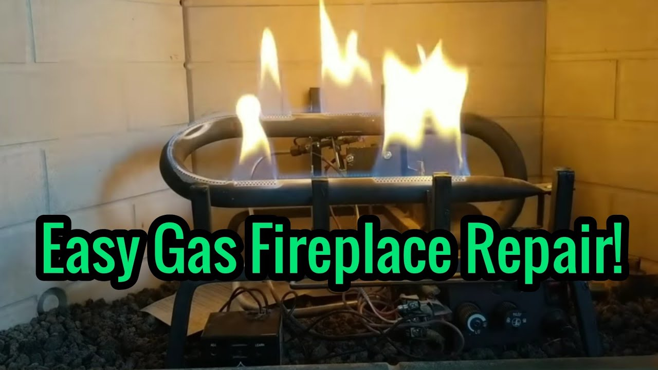 How To Fix A Gas Fireplace Pilot Light That Does Not Stay Lit Troubleshooting And Repairing