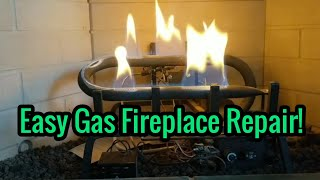 How to Fix a Gas Fireplace Pilot Light That Does Not Stay Lit - Troubleshooting and Repairing