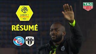 RC Strasbourg Alsace - Angers SCO ( 1-2 ) - Résumé - (RCSA - SCO) / 2018-19
