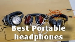 best  bargain portable headphones - on-ear supra aural headphones
