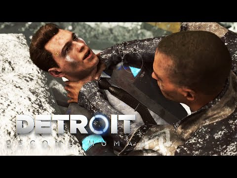 Detroit: Become Human BAD ENDING (Markus vs Connor Fight, Kara's Sacrafice) 1080p HD
