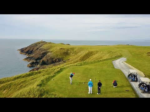 Links Golf Training in Wales