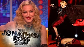 Madonna's Fall At The Brit Awards - The Jonathan Ross Show