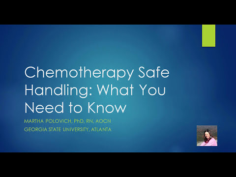 Chemotherapy Safe Handling: What You Need to Know