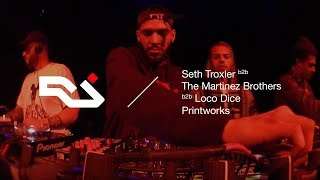 Seth Troxler b2b Loco Dice b2b The Martinez Brothers at Printworks