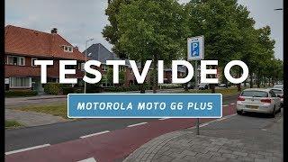 Motorola Moto G6 Plus testvideo (Dutch)
