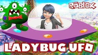 ROBLOX UFO Simulator 🐞 Mucize Uğur Böceği ile Uzaylı Olduk 🐞 Türkçe Roleplay Rolblox 🐞Part 1