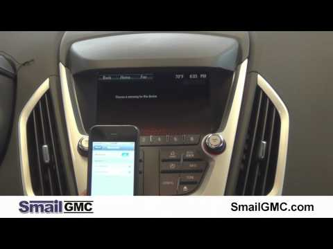 How to Connect an iPhone to Bluetooth on the GMC Terrain